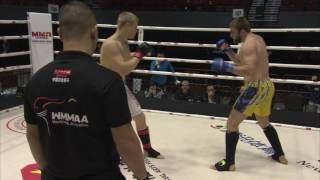 Robert Lau (Germany) vs. Maxim Mazenko (Ukraine). Light heavyweight