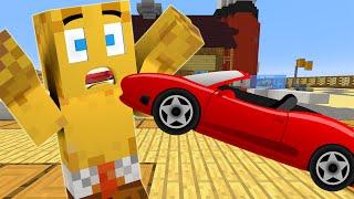 Minecraft : Spongebob Episode 4 - SPONGEBOB'S DRIVING TEST (Minecraft Roleplay)