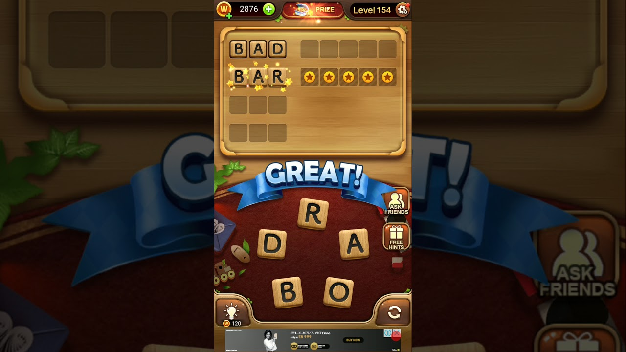 Word Connect Level 154 Tips Answers Strategy And Walkthrough Gogamerez