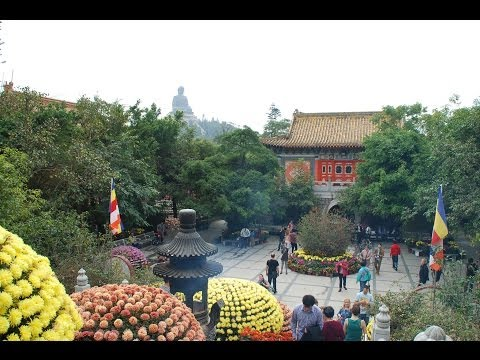 Po Lin Monastery-Hong Kong (With Narration + Music)