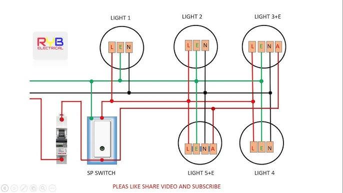 emergency light switch wiring diagram! - YouTubeYouTube