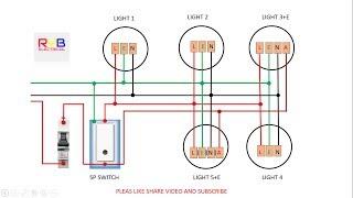 emergency light switch wiring diagram! - YouTube