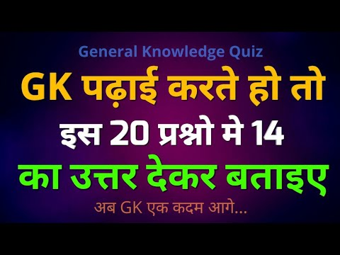 Competitive Gk Quiz | General Knowledge Quiz For All Competition Exams