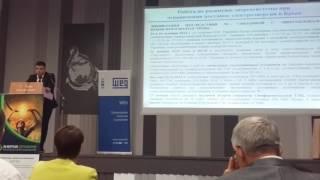 Выступление заместителя министра топлива и энергетики Республики Крым