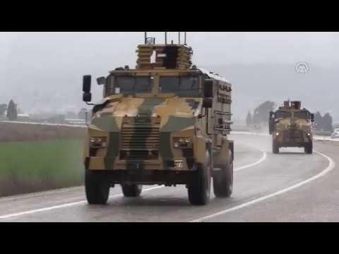 Турецкий спецназ выдвинулся в Африн -Türk özel kuvvetleri Afrinde