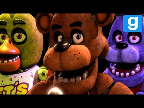 THE AMAZING HD FNAF PILL PACK! | Garry's Mod