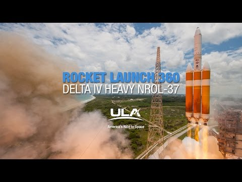 Download Youtube: Rocket Launch 360: Delta IV Heavy NROL-37