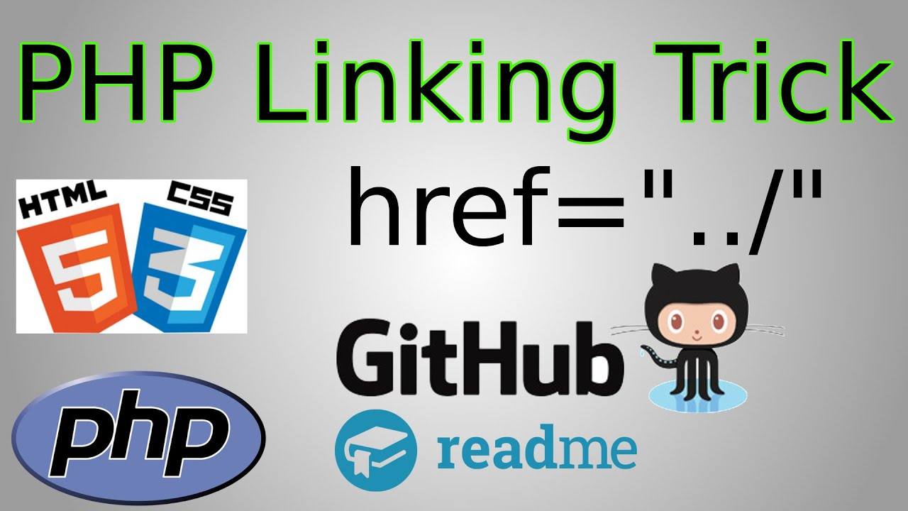 PHP/HTML: Link To Any Folder/File with 1 nav Include (php-magic-linking  GitHub Project)