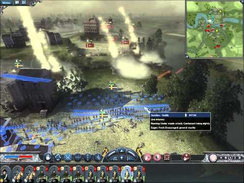 Napoleon Total War Online Battle #076: Sweden vs the Ottomans (Live-Commentary)