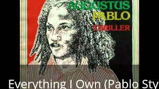 Augustus Pablo - Thriller [full album]