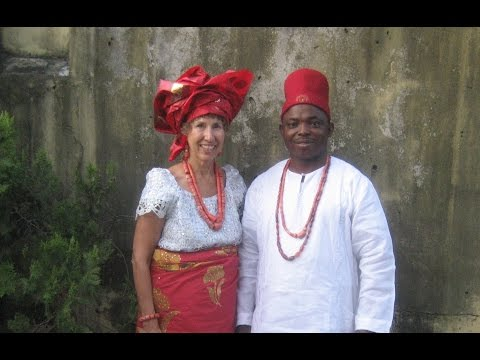 Igbo Chiefs Bert & Barbara