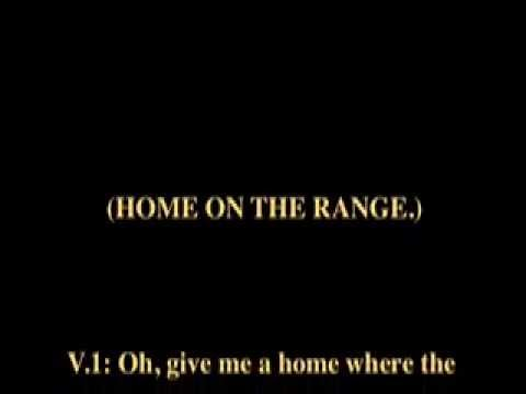 Home on the Range Music and Lyrics