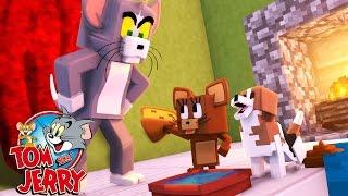 Minecraft: FILHOTE DE CACHORRO! #06 ( TOM E JERRY )