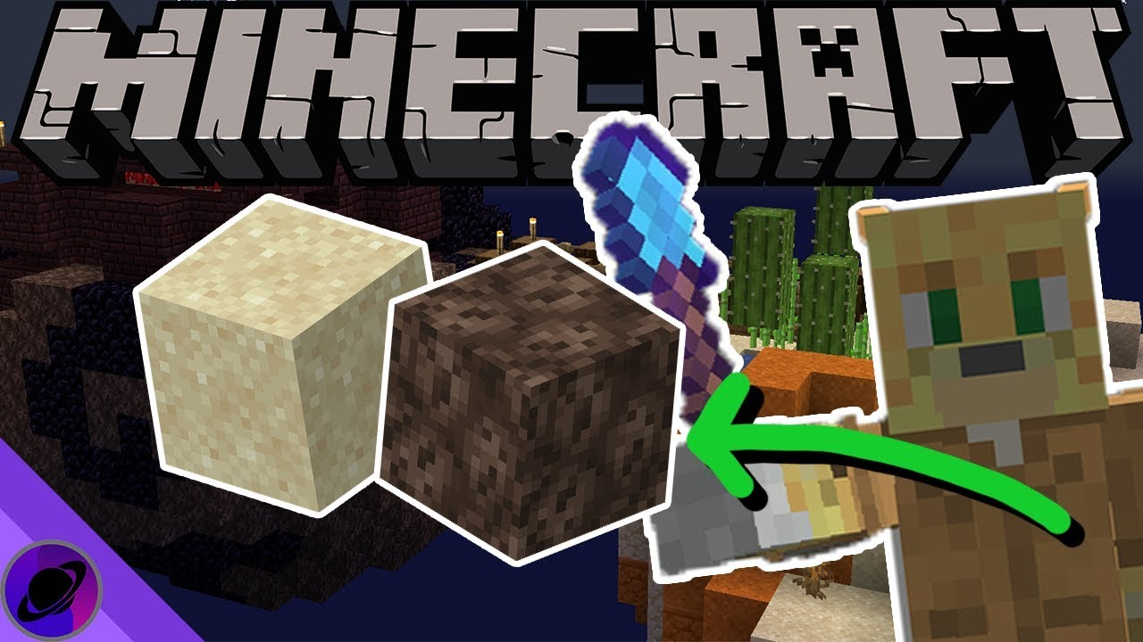 How to get sand - Hypixel Skyblock by blockmario02