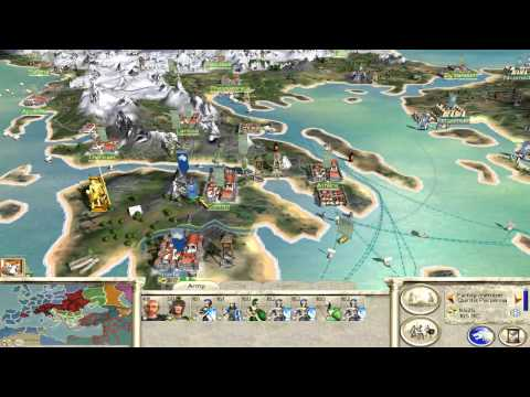 Let's Play Rome Total War - 123 (Walking Our Way Towards Pointy Things, Preparation)