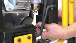 How to Change your Generator's Air Filter Cleaner Assembly