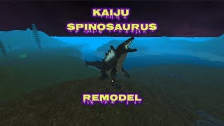Kaiju Spinosaurus Remodel - Roblox Dinosaur Simulator
