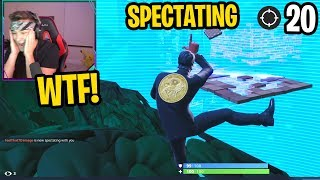 i was LOSING MY MIND spectating these INSANE fortnite players... (WTF)