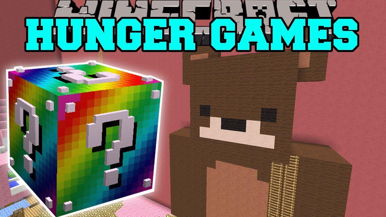 Lucky Block Mod Minecraft Hunger Games
