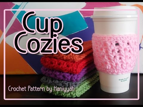 Vol 38 Crochet Pattern For Cup Cozy Cozies Youtube