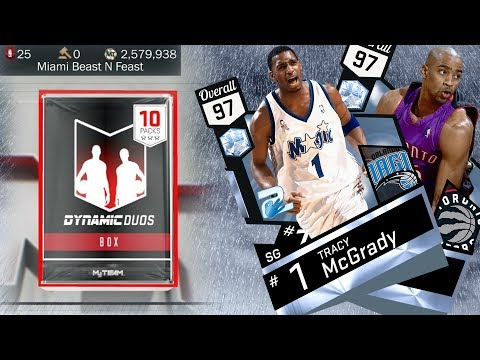 NBA 2K17 My Team - Dynamic Duo Packs and Discussion! PS4 Pro