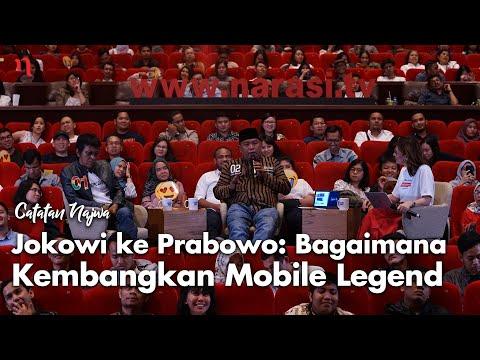 Nobar Debat Pilpres: Jokowi Ke Prabowo Soal Mobile Legend (Part 5) | Catatan Najwa