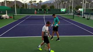 Dominic Thiem with Karen Abgarovich Khachanov. II