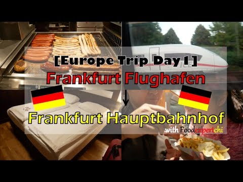[Summer 2018 #3] Frankfurt Flughafen (Airport) to Frankfurt Central Station|Foodexpertchi