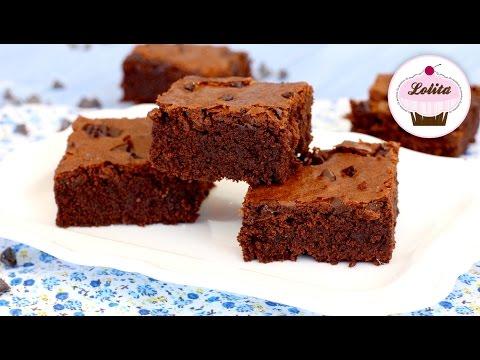Receta de brownie de chocolate casero | Como hacer brownie | Brownie fudge