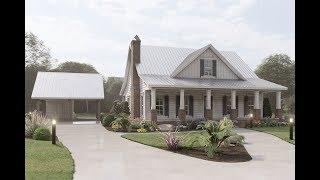 Farmhouse Plan 041-00200 With Interior