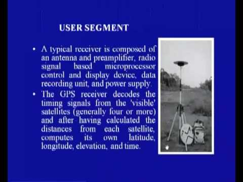 Mod-01 Lec-2 Introduction to Global Positioning System