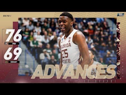 Florida State vs. Vermont: First-round NCAA tournament extended hightlights