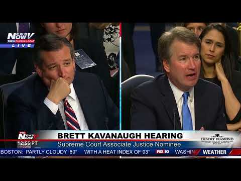 WATCH: Ted Cruz FULL Questioning Of Judge Brett Kavanaugh For Supreme Court Justice