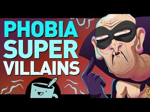 Artists Turn Phobias Into Super Villains