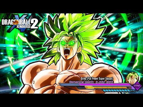 new-broly-movie-raid-boss-hard-challenge!-dragon-ball-xenoverse-2-dlc-pack-9-full-power-broly-raid
