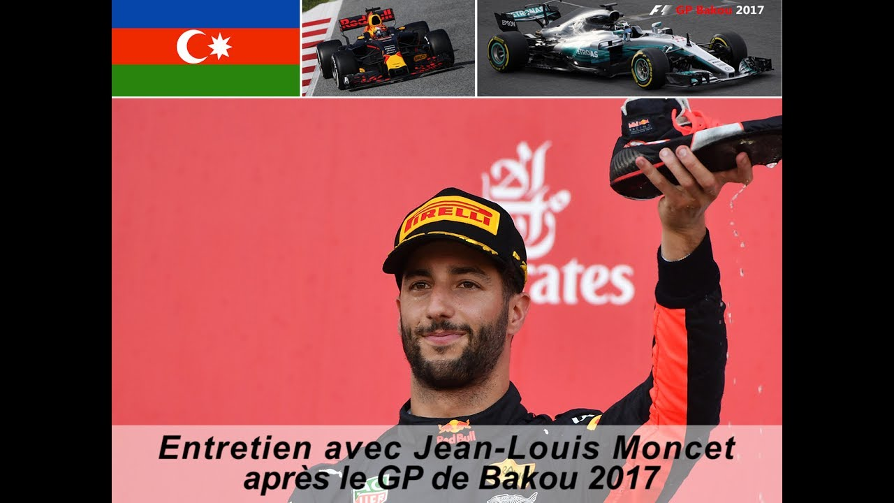entretien avec jean louis moncet apr s le gp f1 de bakou 2017 youtube. Black Bedroom Furniture Sets. Home Design Ideas