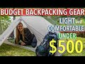 My Budget Backpacking Gear List (Plus Tips to Save More Weight And Money)