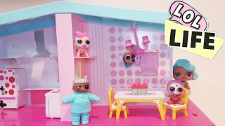 LOL Surprise! LOL Life! LOL Dolls Stop Motion Miniseries - Tinz and the Hide and Seek Fail!
