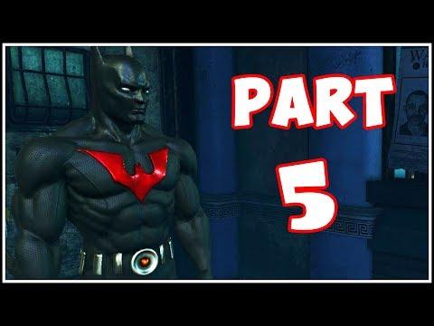 Batman Arkham City - Part 5 - Batman Beyond!