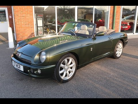 SOLD 1995 MG RV8 4.0 V8 Classic Car For Sale in Louth Lincolnshire