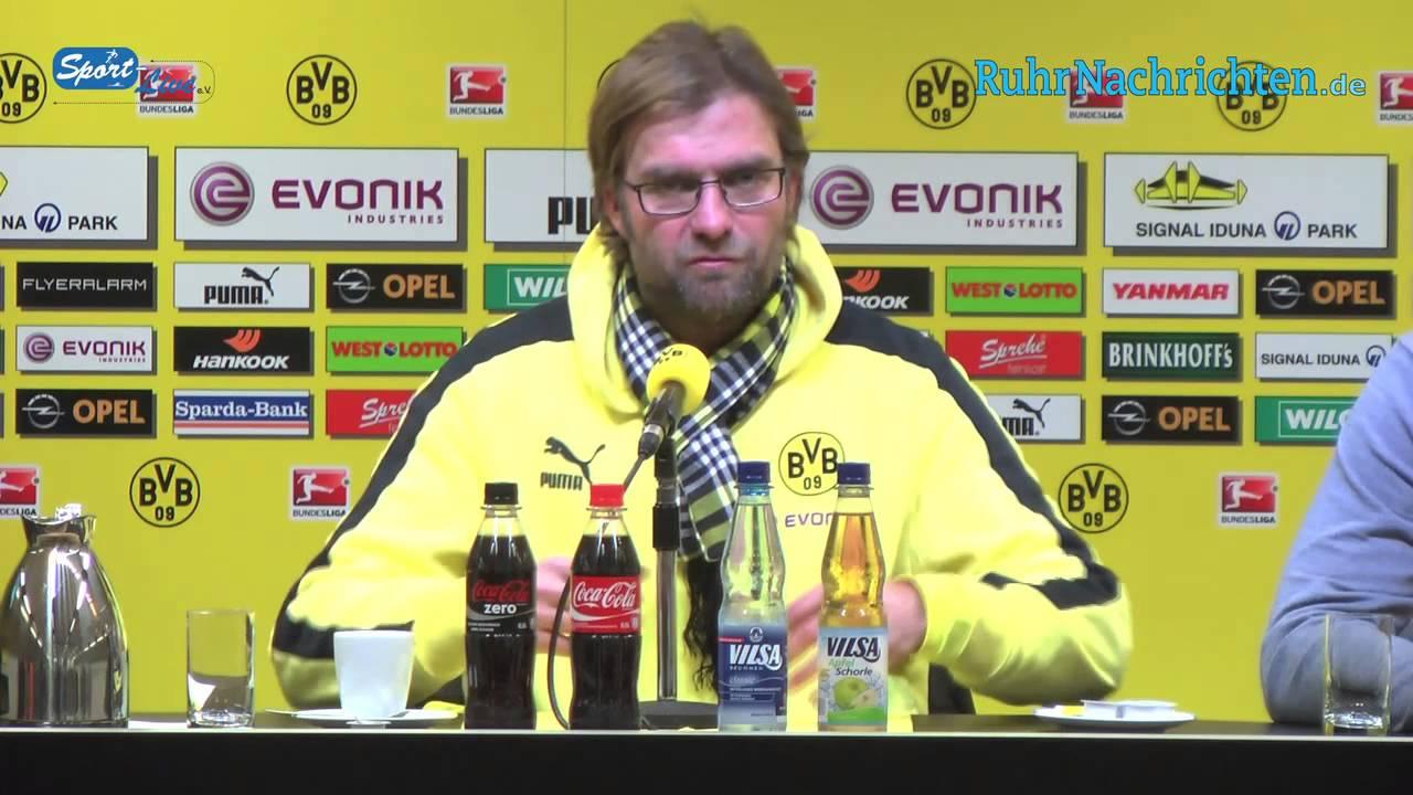 BVB Pressekonferenz vom 8. Dezember 2012 nach dem Spiel Borussia Dortmund gegen VfL Wolfsburg