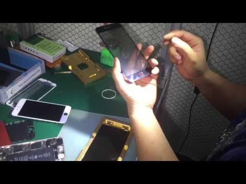 Glass+oca+polarizer+frame lamiante lcd  No need conductive  silver for iphone 6 &  6 plus