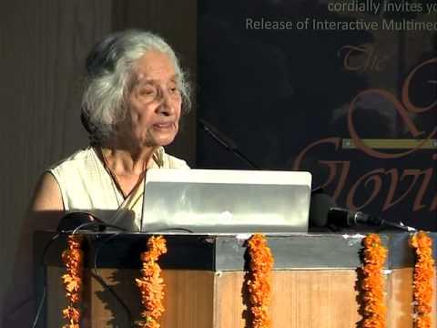 Dr  Kapila Vatsyayan on overview of Gita Govinda Multimedia project at IGNCA