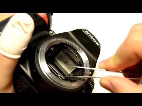 Changing focusing screen on Nikon D40