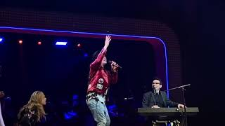 """George Salazar and Joe Iconis Perform """"Michael In The Bathroom"""" LIVE On Stage Of The Lyceum Theatre"""