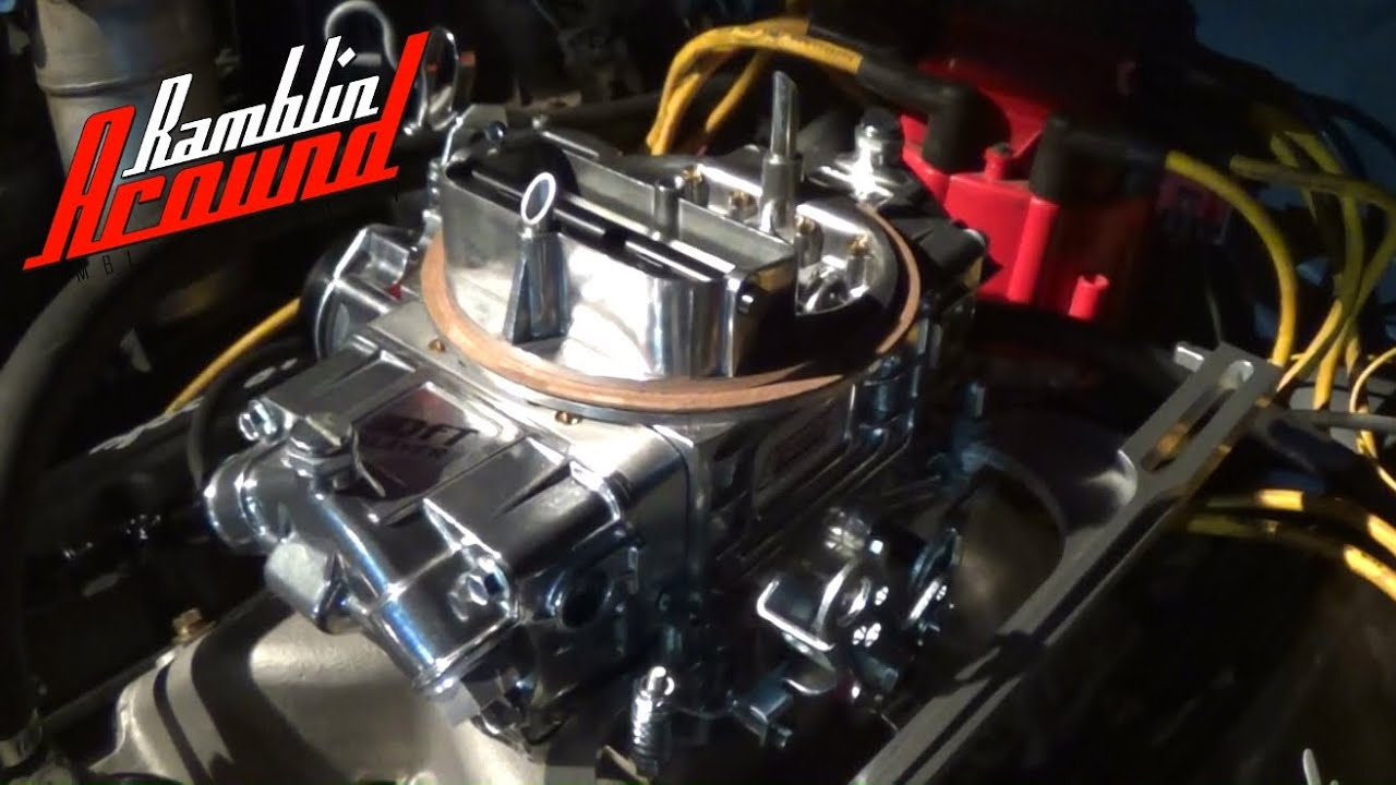 Quick Fuel 750 cfm Slayer Carb for the Trans Am