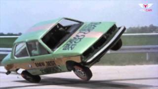 Crash TEST 1975 BMW 3-Series