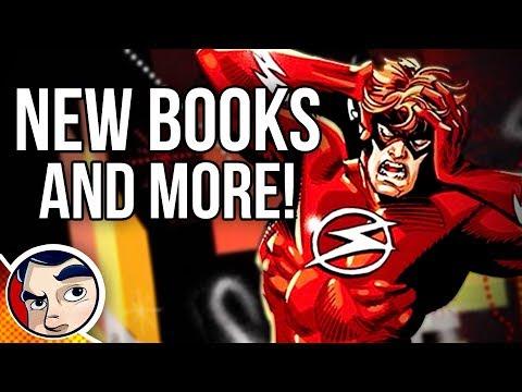 Flash War Begins!! New Justice League! New DC Shows! #NCBD
