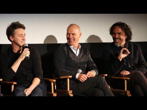 "NYFF52 ""Birdman"" Q&A | Alejandro G. Iñárritu + Cast"