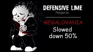 gone mad   megalovania   slowed down 50